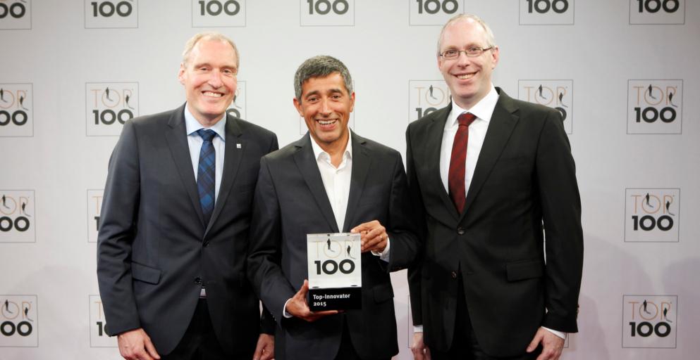 Verleihung Top100 Innovator 2015