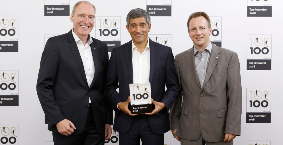 Verleihung Top100 Innovator