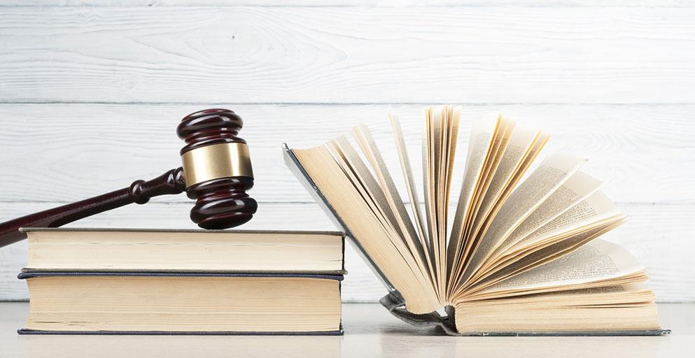 Gerichtshammer Gesetzbuch